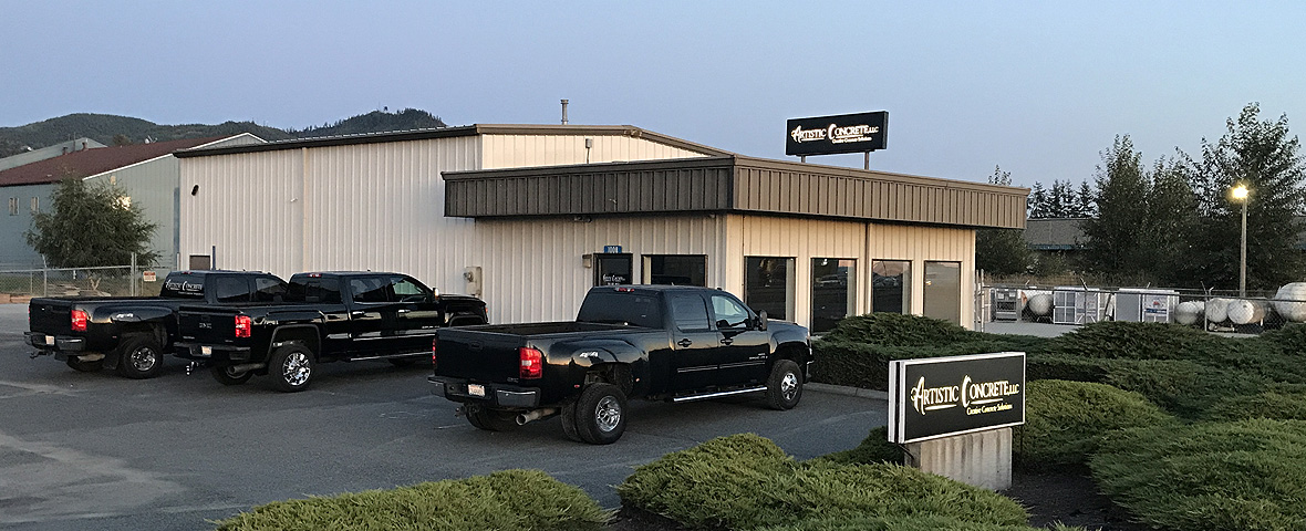 Visit Artistic Concrete, LLC's office located in Mount Vernon, Washington.